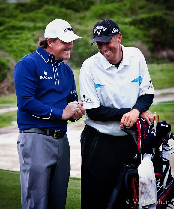 "Phil Mickelson and ""Bones"""