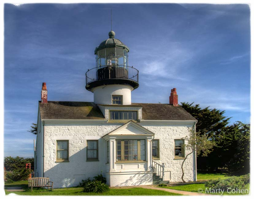 Pacific Grove's Point Pinos Lighthouse