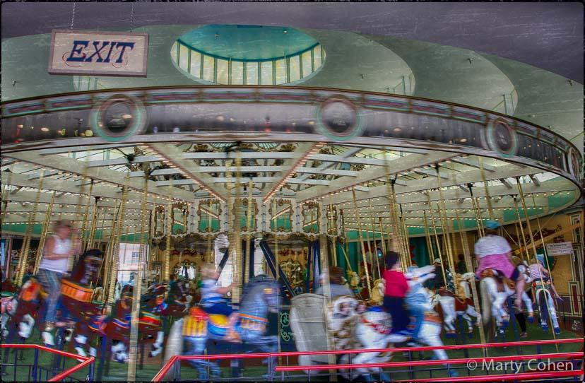 Santa Cruz Boardwalk Carousel