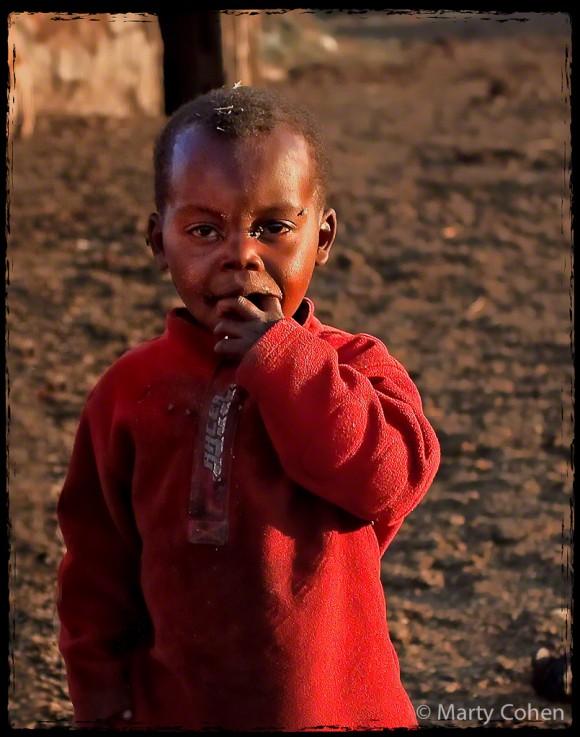 A Masai Toddler