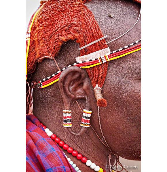 Masai Warrior Ear Ornament