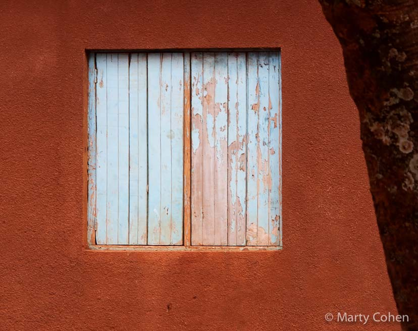 Shuttered Window at Ngorongoro School