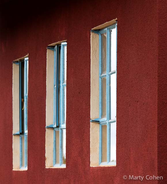 Three Windows at Ngorongoro School