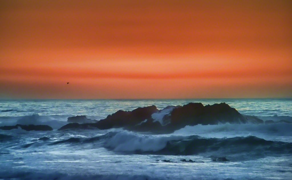 A Peaceful Sunset in Pebble Beach
