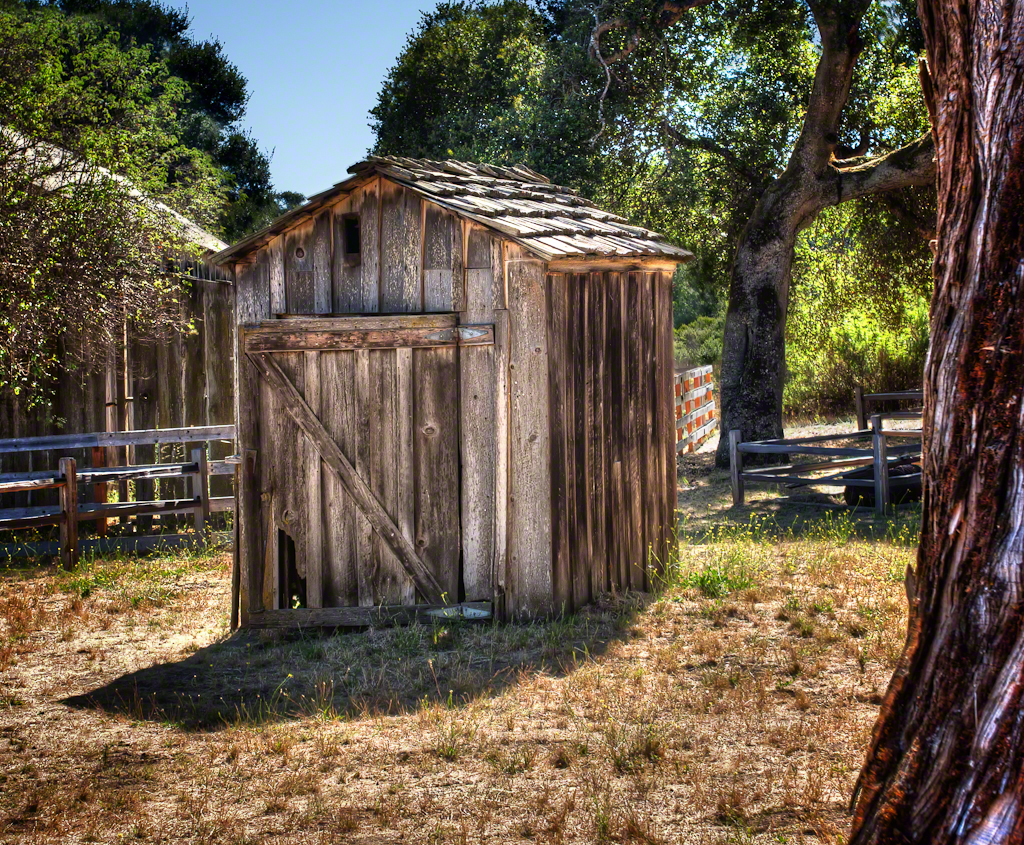 Outhouse by The Barn