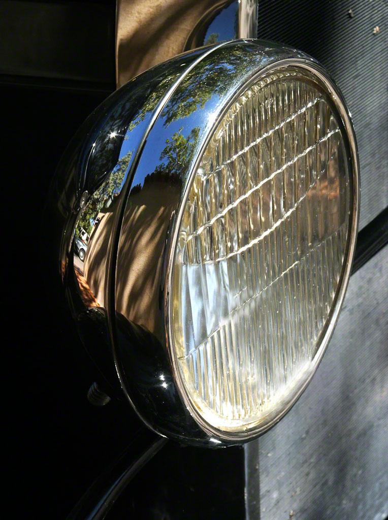 Vintage Ford Headlight