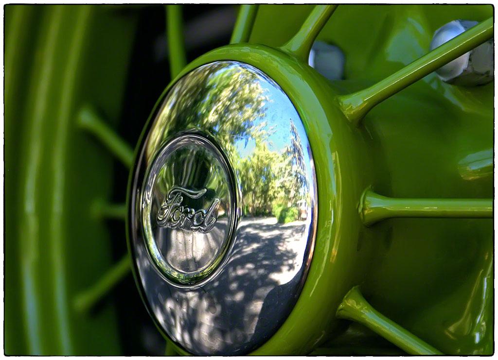 Vintage Ford Wheel