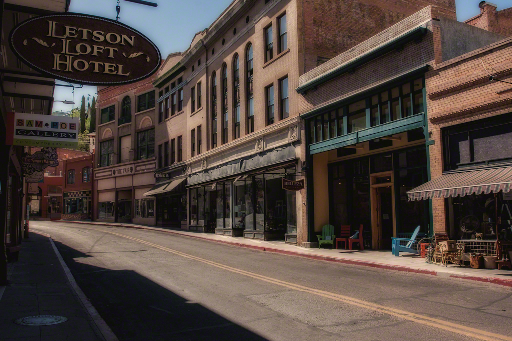 Main Street Bisbee, Arizona