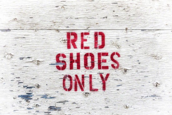 Red Shoes Only