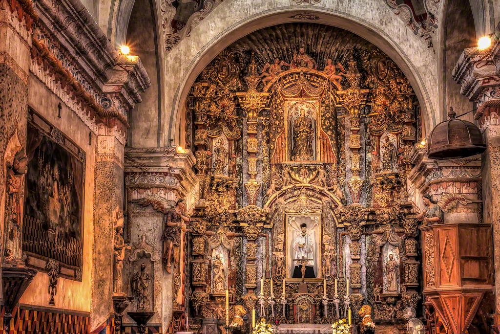Mission San Xavier - Main Chapel