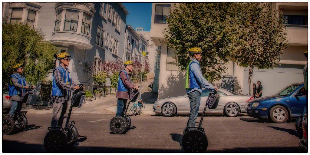 Touring San Francisco