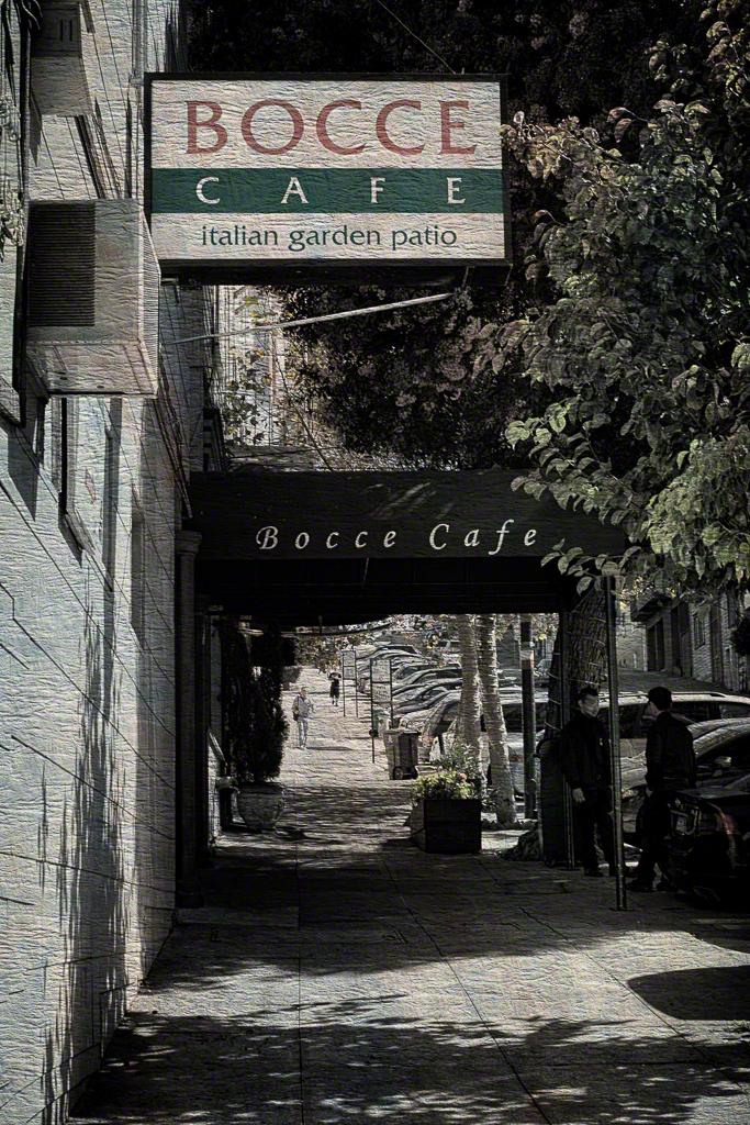 Bocce Cafe