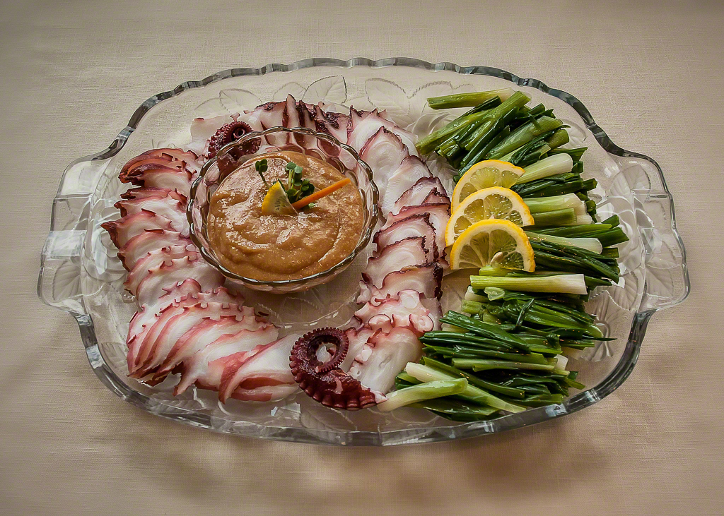 Octopus and Scallions