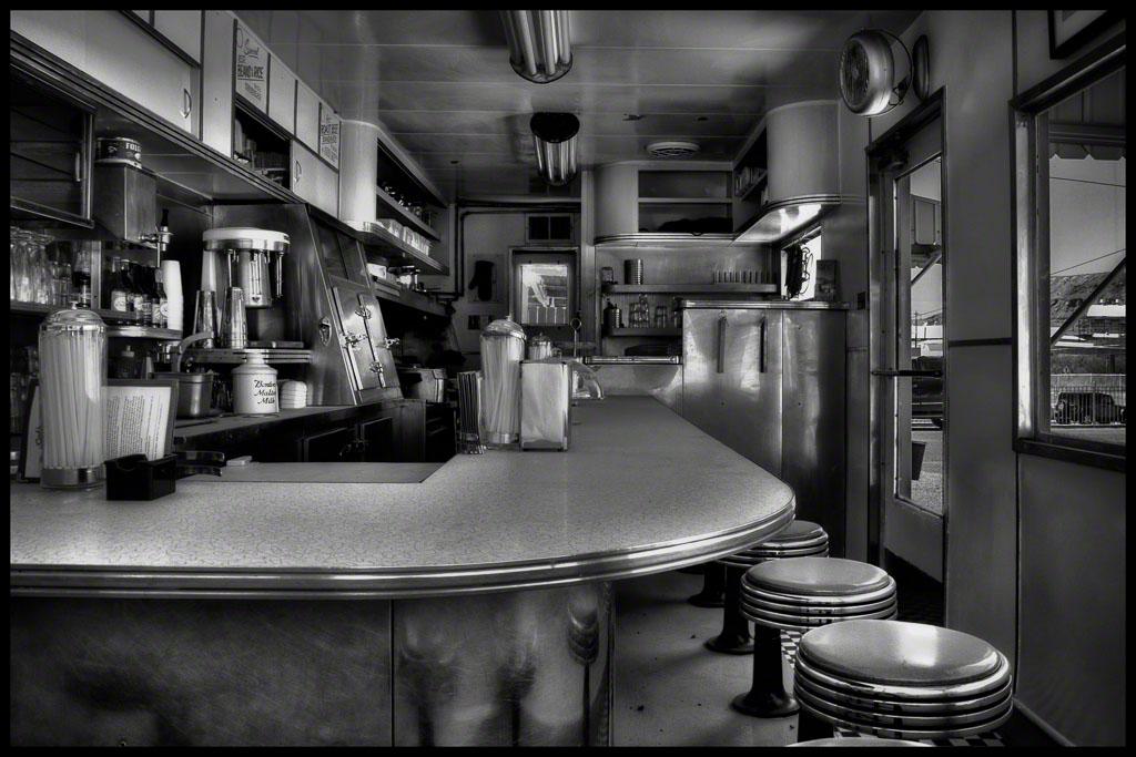 Dot's Diner Interior