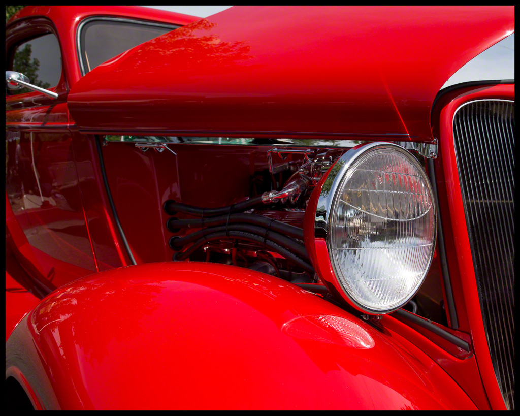 1933 Red Ford Coupe