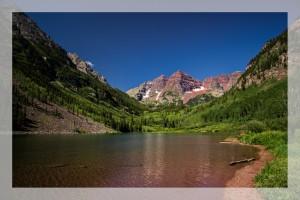 The Maroon Bells Colorado
