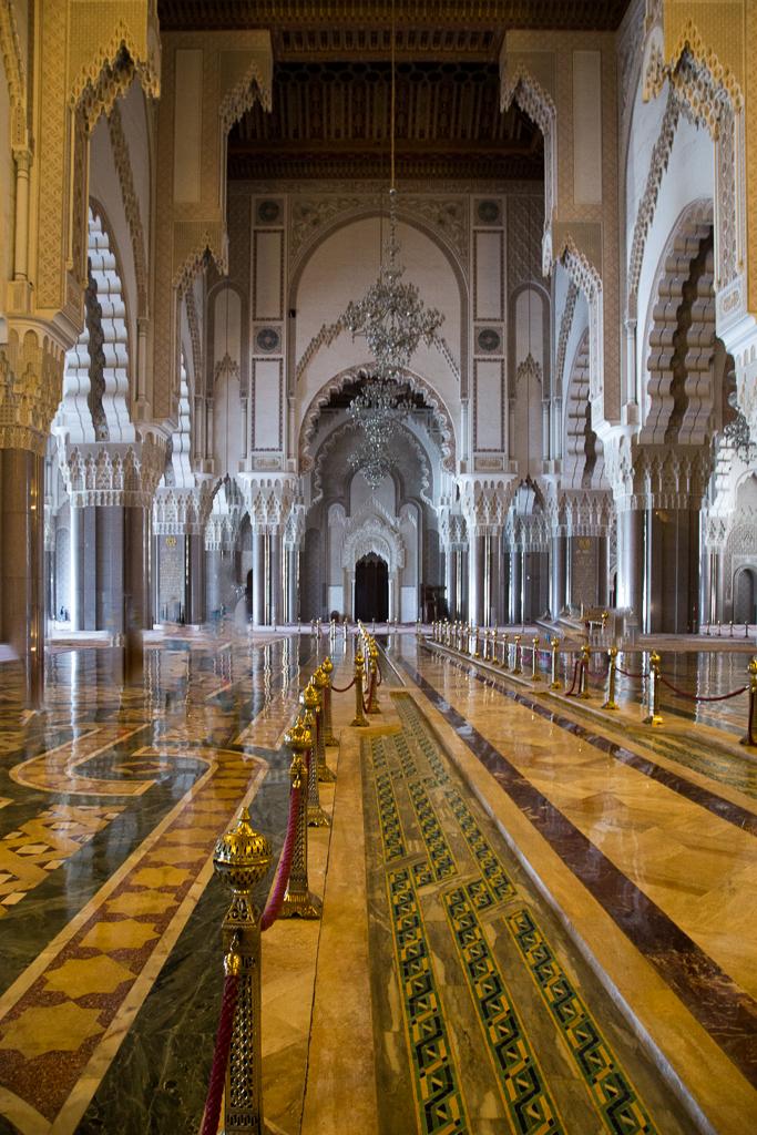 Interior, Hasan II Mosque