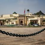 Exterior of Royal Palace in Rabat