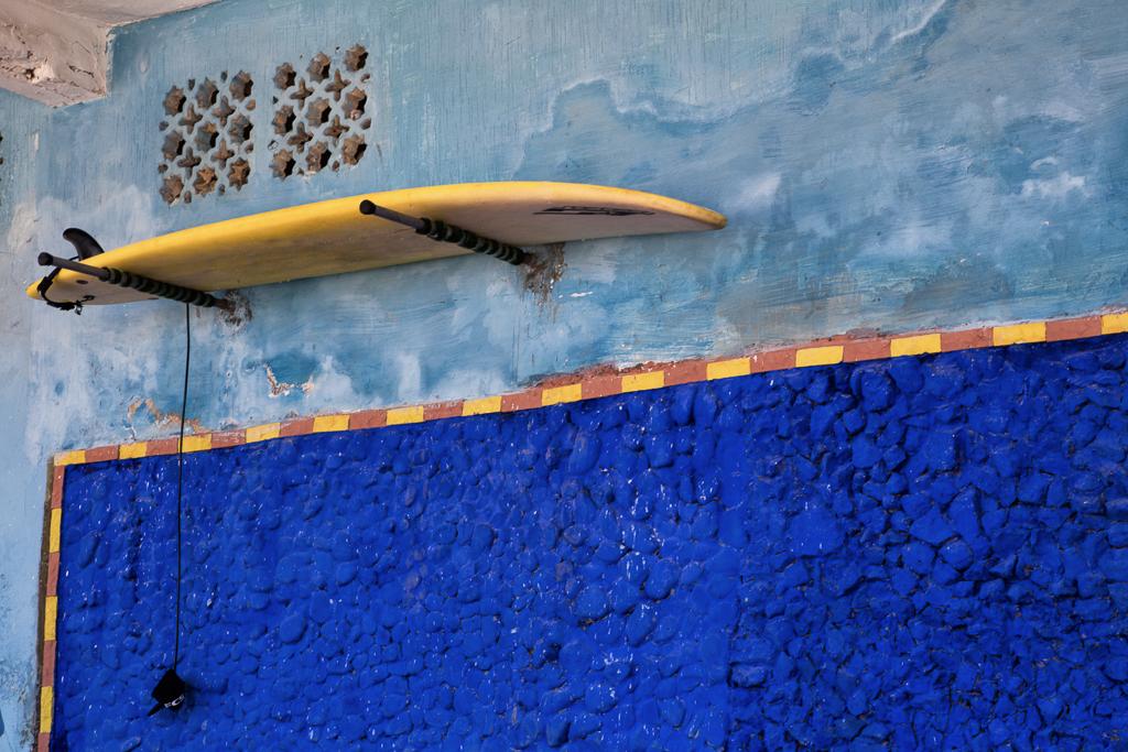 Surfboard in Rabat