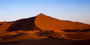Sunrise in the Sahara Desert in Morocco