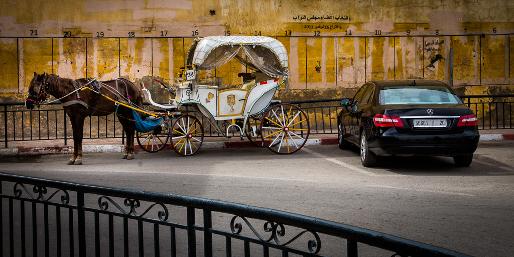 A Contrast in Carriages