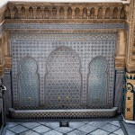 Tile work at the Mausoleum of Mohammed V