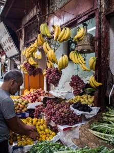 Fruit Vendor in the Medina