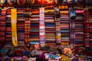 Fabric in the Medina