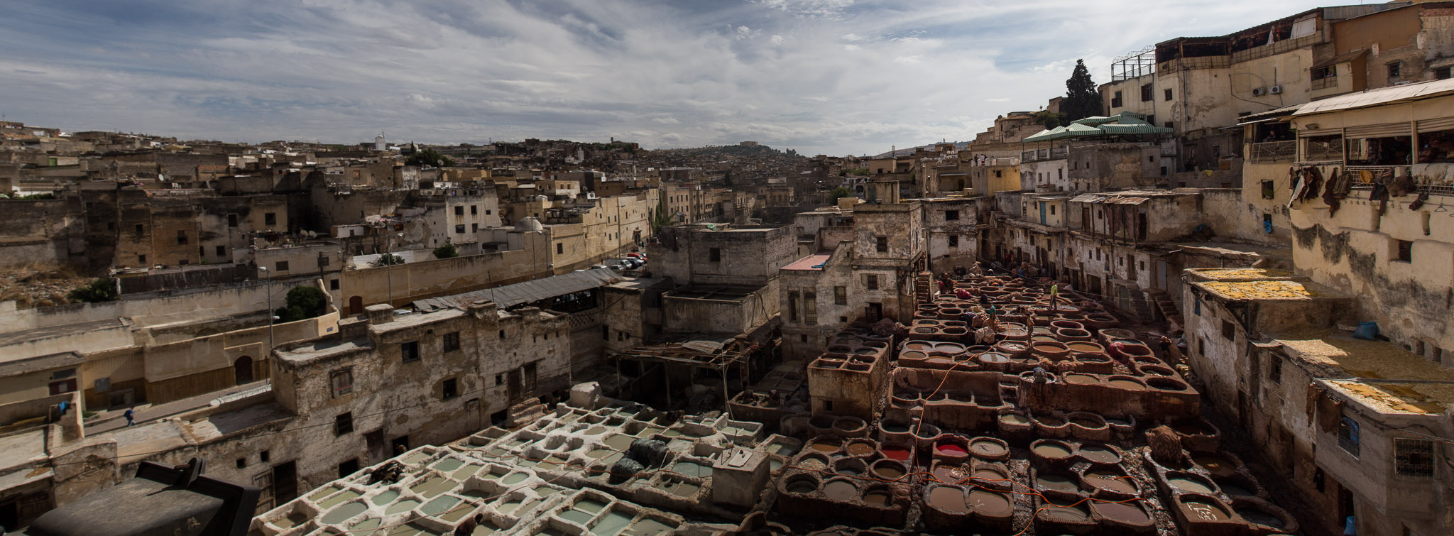 A Tannery in Fez