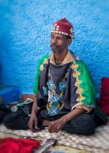 Street Musician in Rabat