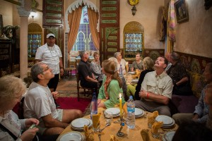 Dinner at the Riad