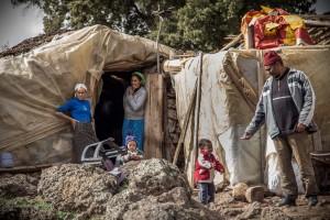Berber Semi-Nomad Family