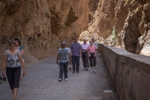 Walking in the Dades Valley