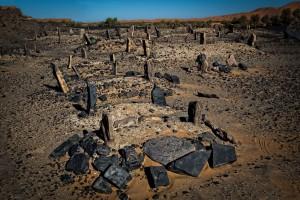 Berber Nomad Cemetery