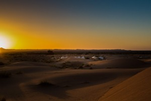 Tent Camp in the Sahara