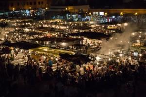 Jemaa el-Fnaa - The Square in Marrekash
