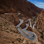 Twists and Turns of the Atlas Mountains