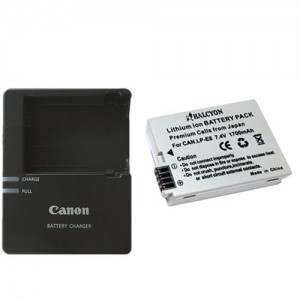 Camera battery & charger