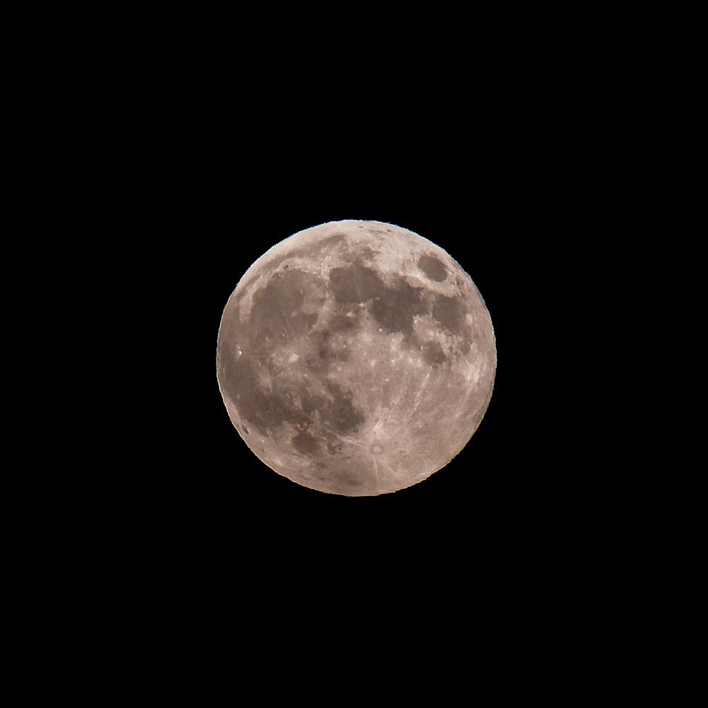 Harvest Super Moon 2014