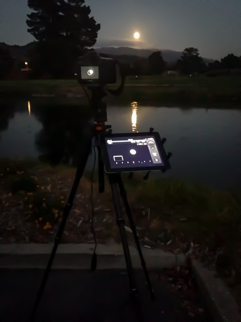Harvest Super Moon Camera Setup 2029-M-WB