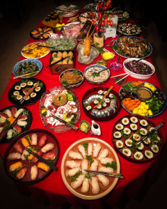 2015 New Year's Table