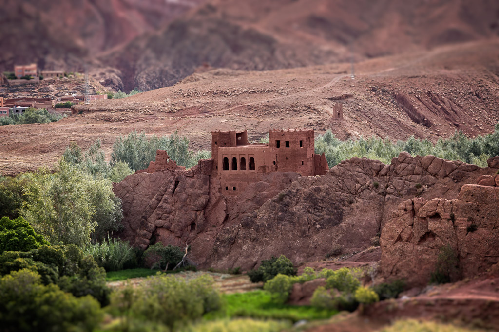 Kasbah in the Dades Valley Morocco
