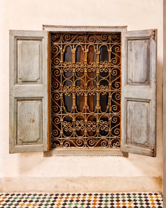 A Window in Marrakech-8161-M-WB