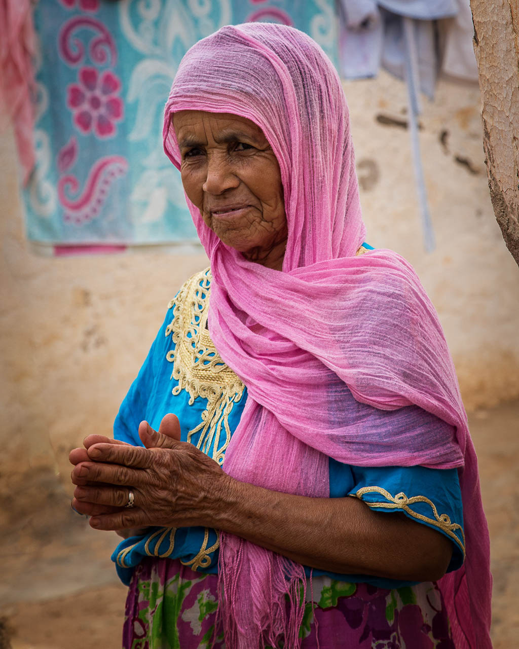 A Local Woman in the Countryside