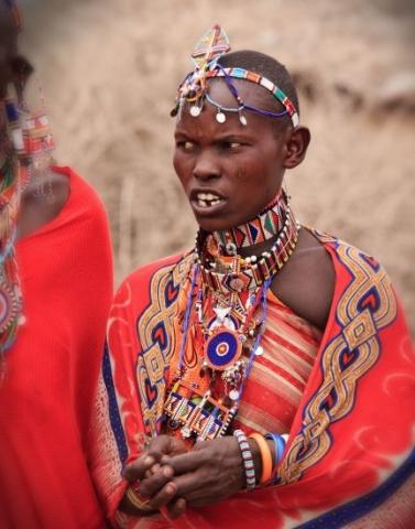 Masai Woman 03