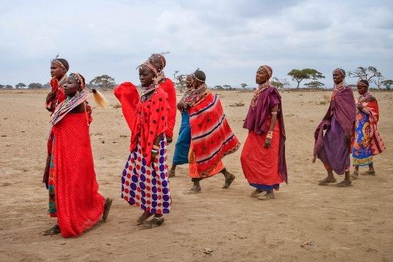 Masai Village Women