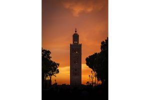 Koutoubia Mosque at Sunset