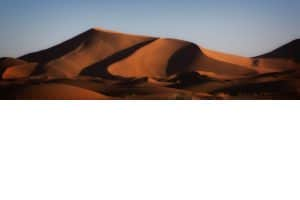Sahara Sand Dunes at Sunrise