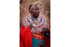 Young Masai Woman